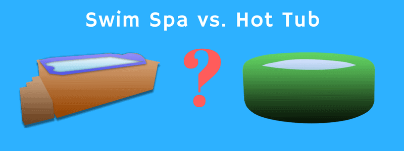 swim spa vs hot tub