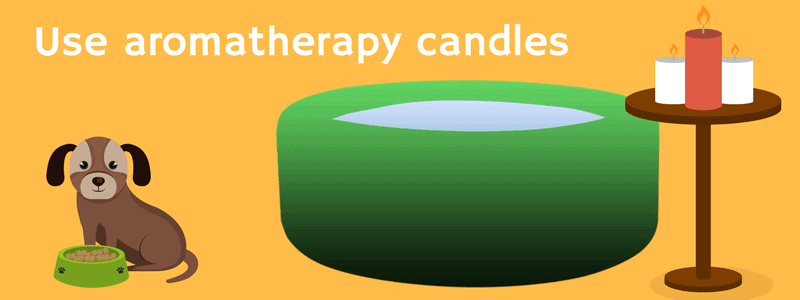 Use aromatherapy candles