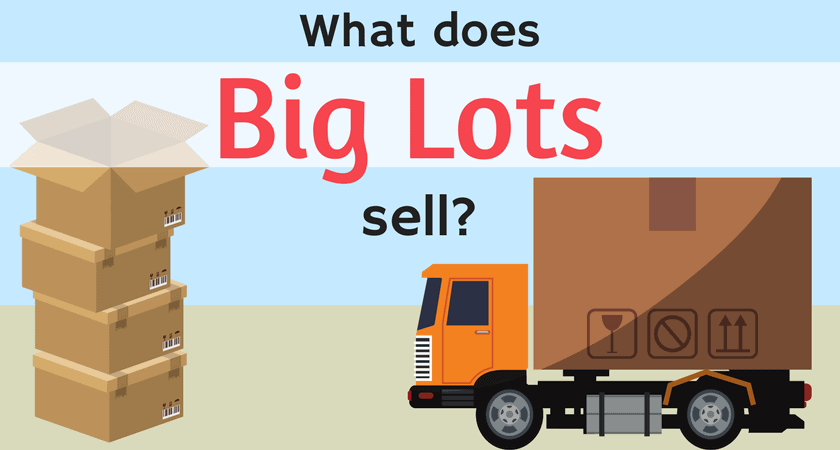 what does big lots sell