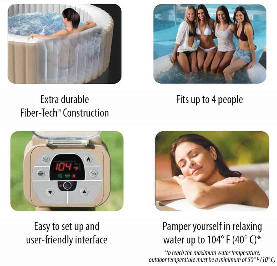 intex purespa features