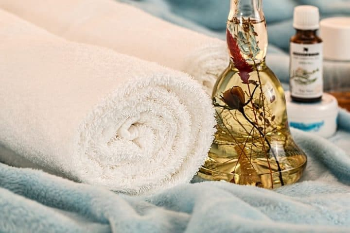 Essential oils for hot tub or infrared sauna